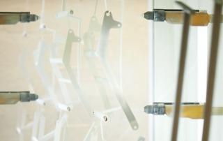 Eget maleranlæg til pulverlakering af vores hospitals- og plejesenge