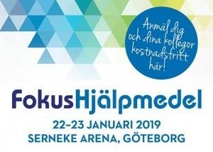 MESSE: Fokus Hjälpmedel - Göteborg @ Serneke Arena | Västra Götalands län | Sverige