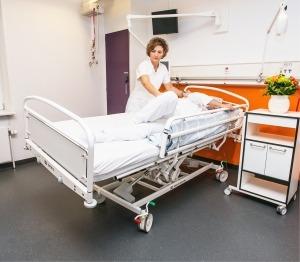 SERVICEKURSUS: Pleje- og hospitalssengen OPUS 5 @ KR | Hadsten | Danmark