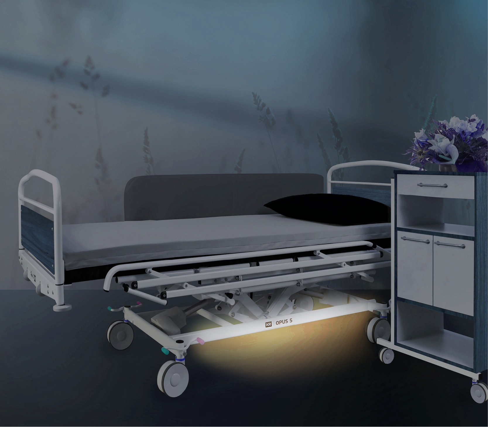 Lys under seng
