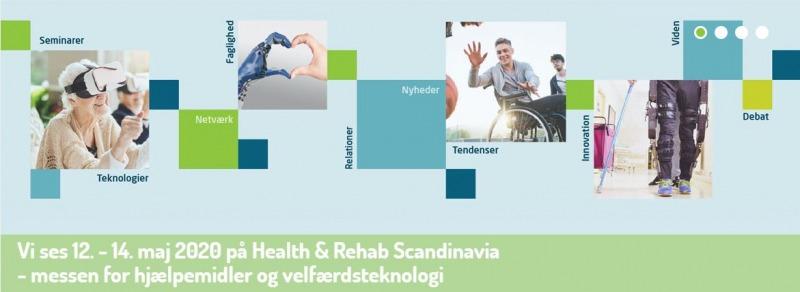 MESSE: Health & Rehab 2020 @ Bella Center | København | Danmark
